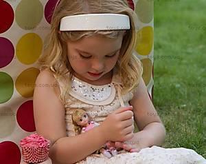 Детская кукла Lottie «Английский сад», LT005, купить