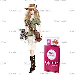 Детская кукла Барби Австралия «Страны мира», W3321
