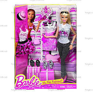 Детская кукла Барби «Большой гардероб», BFW20
