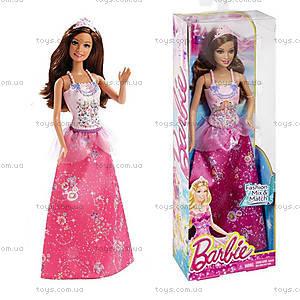 Детская кукла Барби Принцесса «Миксуй и комбинируй», CBV51