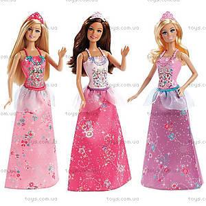 Детская кукла Барби Принцесса «Миксуй и комбинируй», CBV51, купить