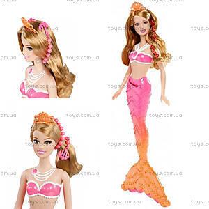 Детская кукла Барби-русалка «Принцесса жемчужин», BDB47, отзывы