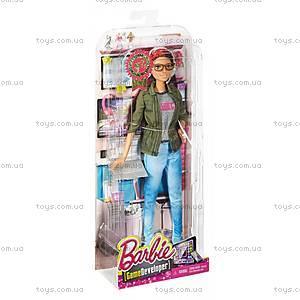 Детская кукла Barbie «Программист», DMC33, купить