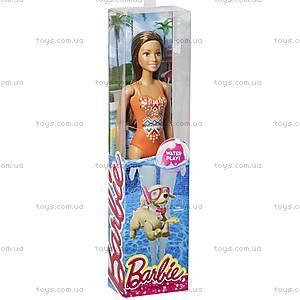 Детская кукла Barbie серии «Пляж», DJD45, фото