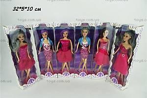 Детская кукла Барби меняет цвет волос, JJ8582-2