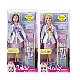 Детская кукла «Доктор» с аксессуарами, LH013-2, отзывы