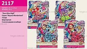 Детская кукла EAH на шарнирах Wonderland, 2117