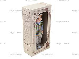 Детская кукла «Женя» в жилете, B2111, отзывы