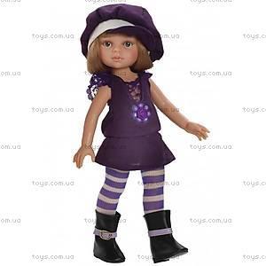 Детская кукла «Карла» в фиолетовом, 04585