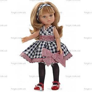 Детская кукла «Карла» в платьице, 04587