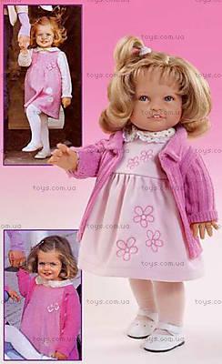 Детская кукла «Леонора» в розовом, 05501