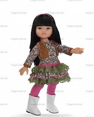 Детская кукла «Лилу» в белых сапожках, 04582