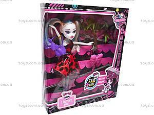 Детская кукла Monster High с аксессуарами, JCQ23-8, фото