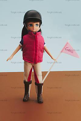 Детская кукла Lottie «Наездница на пони», LT001, игрушки