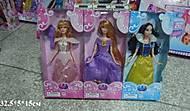 Детская кукла-принцесса для девочек, ZQ20219-1-16-107