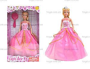 Детская кукла «Принцесса в пышном платье», 8292