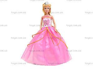 Детская кукла «Принцесса в пышном платье», 8292, цена