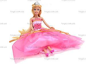 Детская кукла «Принцесса в пышном платье», 8292, игрушки
