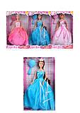 Детская кукла «Принцесса в пышном платье», 8292, toys