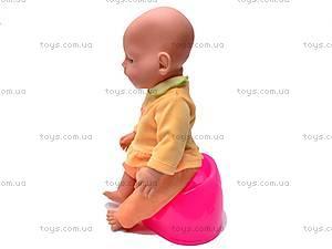 Детская кукла-пупс Baby Doll, с аксессуарами, 058-7, фото