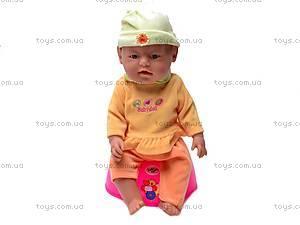 Детская кукла-пупс Baby Doll, с аксессуарами, 058-7, цена
