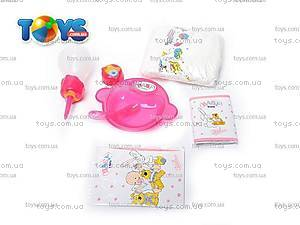 Детская кукла-пупс Baby Doll, с аксессуарами, 058-7, игрушки