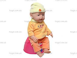 Детская кукла-пупс Baby Doll, с аксессуарами, 058-7, магазин игрушек