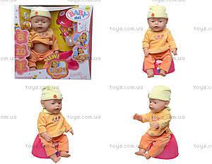 Детская кукла-пупс Baby Doll, с аксессуарами, 058-7