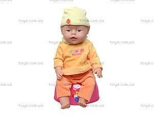 Детская кукла-пупс Baby Doll, с аксессуарами, 058-7, toys