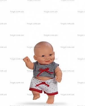Детская кукла-пупс, мальчик, 01107