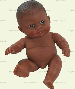 Детская кукла-пупс, мулатик, 31012