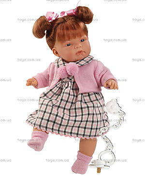 Детская кукла-пупс «Паула», 38262