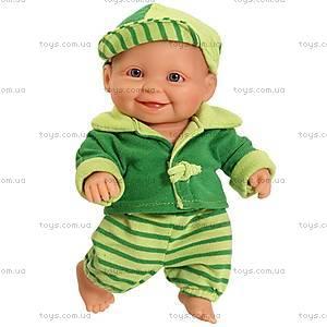 Детская кукла-пупс «Зимний мальчонка», 01119