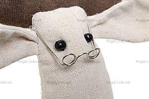 Детская кукла ручной работы «Мистер Лось», HEMP10002(UA), отзывы