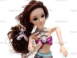 Детская кукла-русалка Mermaid, QJ030D, купить