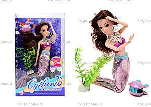 Детская кукла-русалка Mermaid, QJ030D