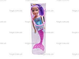 Детская кукла-русалка, в колбе, 08087E, фото