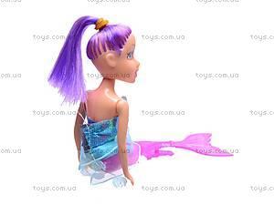 Детская кукла-русалка, в колбе, 08087E, игрушки
