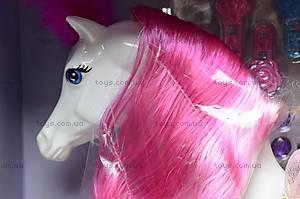 Детская кукла с лошадью и аксессуарами, 709134, купить