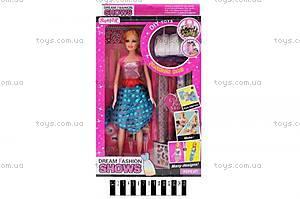 Детская кукла с набором для окрашивания волос, 305