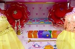 Детская кукла с нарядами, 6688A/88B, игрушки