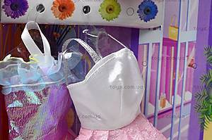 Детская кукла с платьями, 6608 A, игрушки