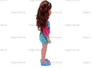 Детская кукла, с расческой, K18, фото