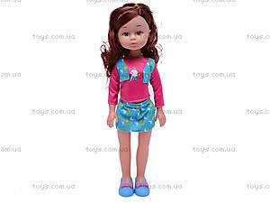 Детская кукла, с расческой, K18