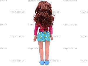 Детская кукла, с расческой, K18, цена