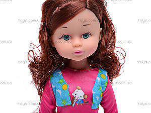 Детская кукла, с расческой, K18, игрушки