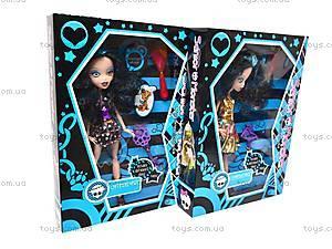 Детская кукла серии Monster High с аксессуарами, 668B+, магазин игрушек