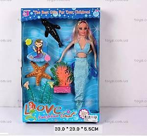Детская кукла типа «Барби-Русалочка», QJ002C