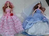 Детская кукла типа «Барби», в бальном платье, 2097