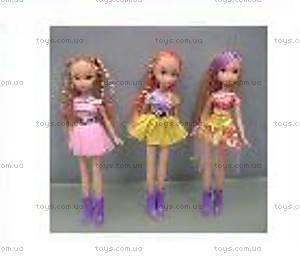 Детская кукла, в ярком наряде, W10826-3